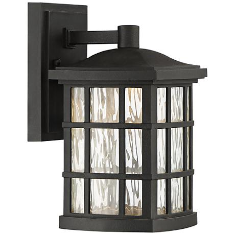 "Stonington 10 1/2"" High Mystic Black LED Outdoor Wall Light"