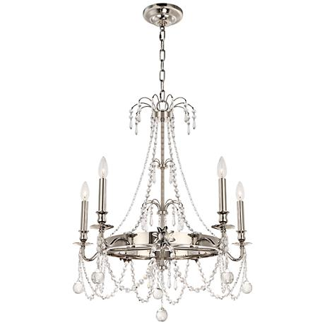 Hudson Valley Danville 36 1 4 Quot W Polished Nickel Chandelier