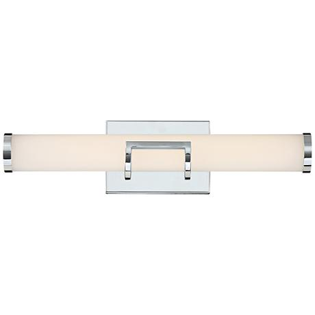 "Platinum Collection Bram 20 1/4"" Wide Chrome LED Bath Light"