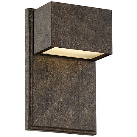 "Possini Euro Design Lyons 8""H LED Outdoor Light"