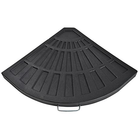 Sector 26.4 Lb. Black Envirostone Umbrella Base