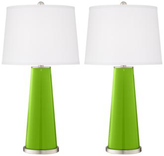 Neon Green Leo Table Lamp Set of 2 (1R412-X9745-9J641) 1R412-X9745-9J641
