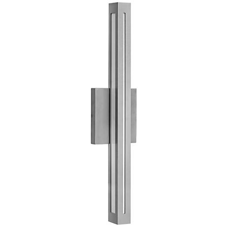 "Hinkley Vue LED 26"" High Titanium Outdoor Wall Light"