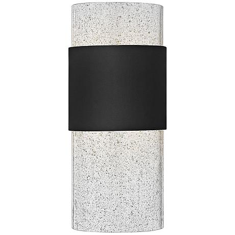 "Hinkley Horizon LED 12"" High Black Outdoor Wall Light"