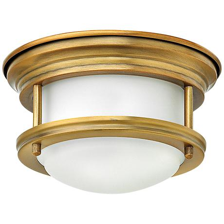 "Hinkley Hathaway 7 3/4""W LED Brushed Bronze Ceiling Light"