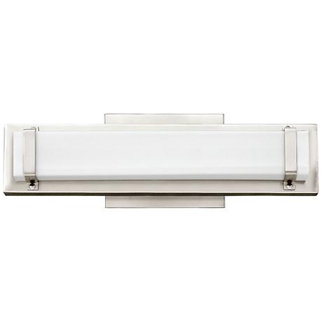 "Hinkley Tremont 16"" Wide LED Polished Nickel Bath Light"