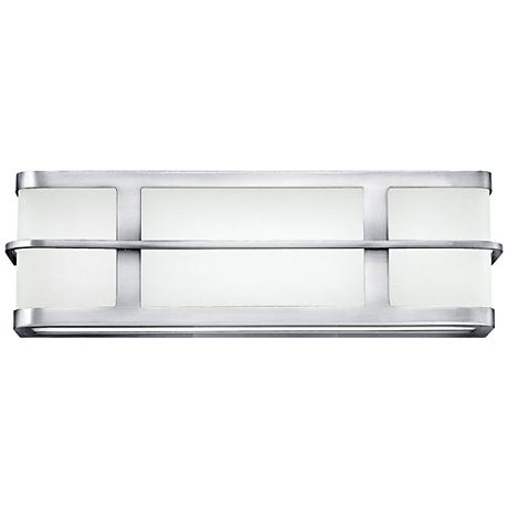 "Hinkley Fairlane 16"" Wide LED Chrome Bath Light"