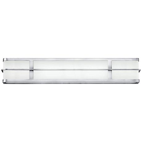 "Hinkley Fairlane 29 1/2"" Wide 2-LED Chrome Bath Light"