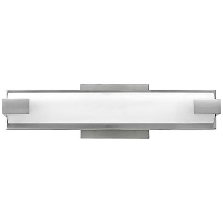"Hinkley Unity 16"" Wide LED Brushed Nickel Bath Light"