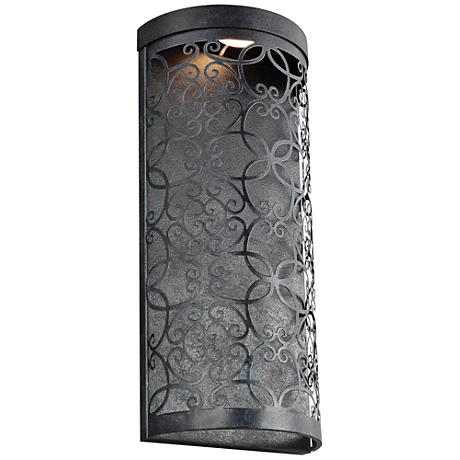 "Feiss Arramore 17 1/2"" High Zinc LED Outdoor Wall Light"