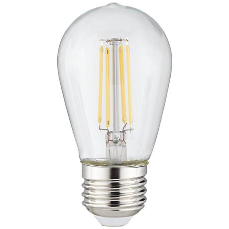 4 Watt LED Outdoor Clear Dimmable ST14 Party Light Bulb