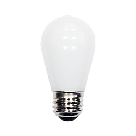 4 Watt LED Outdoor Frosted Dimmable ST14 Party Light Bulb