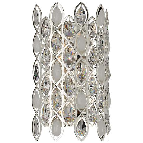 "Prive 16"" High Silver 4-Light Wall Sconce"