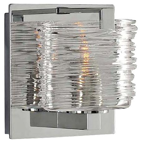 "South Bay 5"" Wide Chrome 1-Light Wall Sconce"
