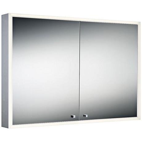 "Eurofase Edge-Lit Double Door 27 1/2""x39 1/4"" LED Mirror"