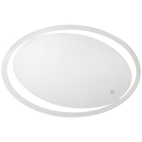 "Aptations Sol Oval 35 1/2""x23 1/2"" LED Vanity Mirror"