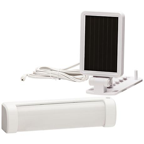 140 Lumen LED White Solar Security Light