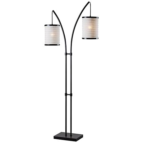 Kenroy Home Lanterna Oil Rubbed Bronze 2-Light Floor Lamp