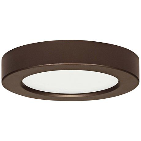 "Blink Bronze 5 1/2"" Wide Round LED Ceiling Light"