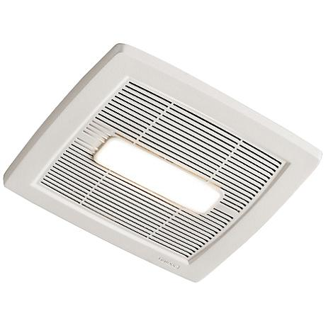 NuTone InVent LED White 80 CFM 0.8 Sones Lighted Bath Fan