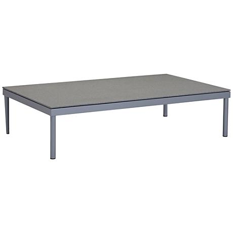 Zuo Sand Beach Gray and Granite Outdoor Coffee Table