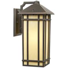 "Jardin du Jour Mission Hills 16 1/2"" LED Outdoor Wall Light"