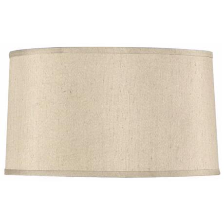 Beige Drum Shade 15x16x9 (Spider)