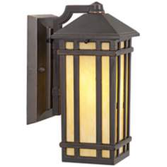 "J du J Mission Hills 10 1/2"" High LED Outdoor Wall Light"