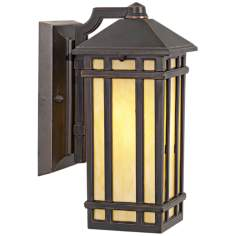 "J du J Mission Hills 10 1/2"" High Outdoor Wall Light"