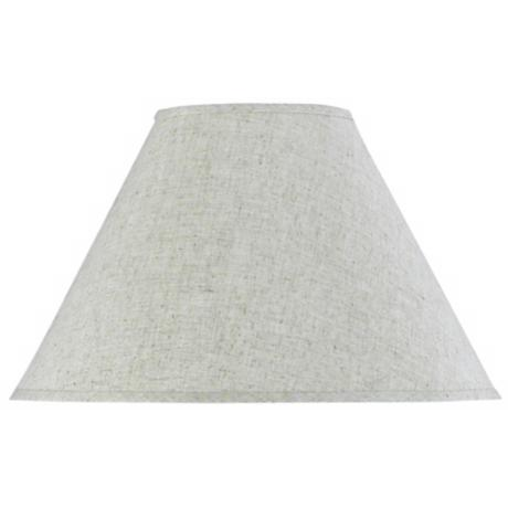 Oatmeal Grey Empire Shade 7x18x12 (Spider)