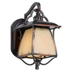 "Cozy Cottage Collection 14"" High Outdoor Wall Light"