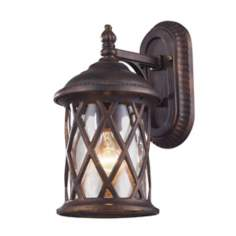 "Barrington Gate 13"" High Outdoor Wall Light"