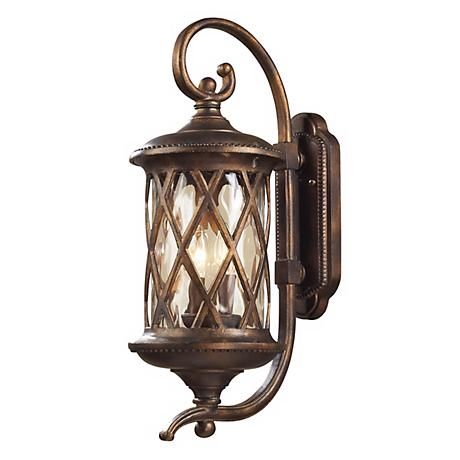 "Barrington Gate 24"" High Scroll Arm Outdoor Wall Light"