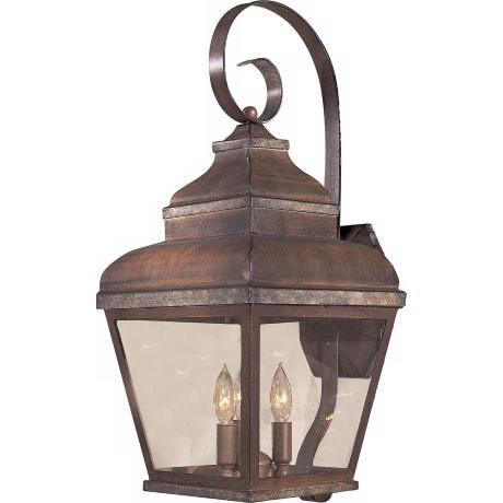 "Mossoro Collection 22 3/4"" High Outdoor Wall Light"