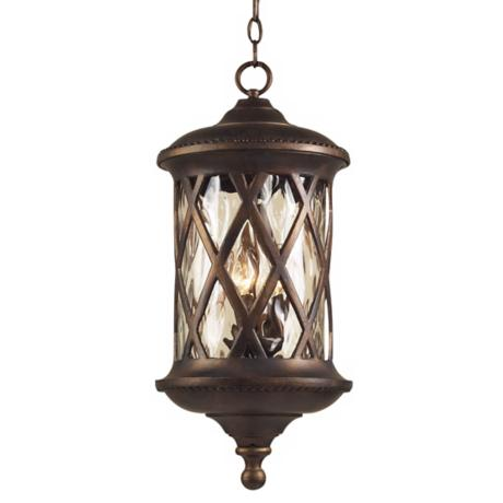 "Barrington Gate 24"" High Outdoor Hanging Light"