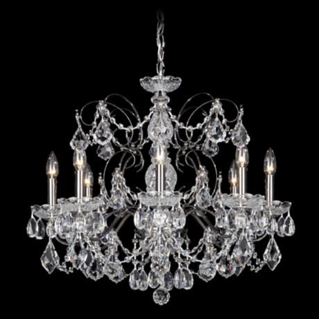 "Schonbek Century Collection 24"" Wide Crystal Chandelier"