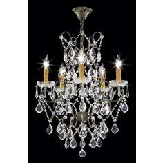 "James R. Moder Charleston Collection 20"" Wide Chandelier"