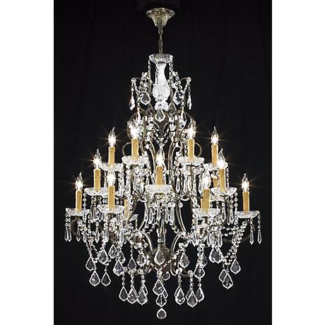James R. Moder Charleston Large Crystal Chandelier