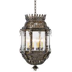 "Odessa Collection 32 1/2"" High Hanging Outdoor Light Fixture"