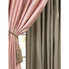 Green Dupioni Silk Drapes