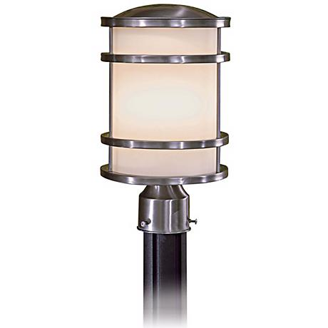 "Bay View Stainless 13 1/2"" High Stainless Post Light"