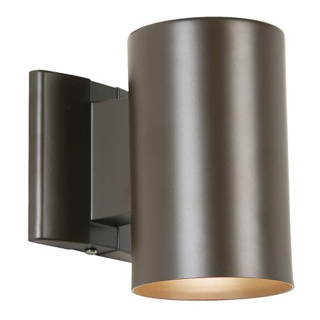 "Bronze 7"" High Outdoor Dark Sky Tube Light"