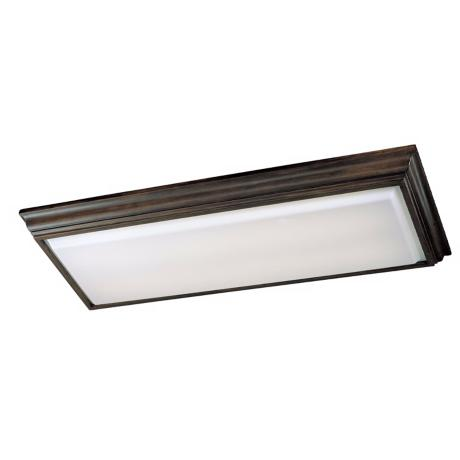 "Walnut  53"" Long Ceiling Light"