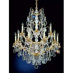 Schonbek Gallia 15-Light Large Crystal Chandelier