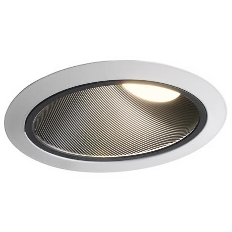 "Juno 6"" Super Slope Black Baffle Recessed Light Trim"