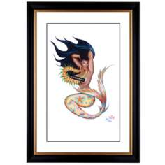 "Taboo Kai II Giclee Frame 41 3/8"" High Wall Art"