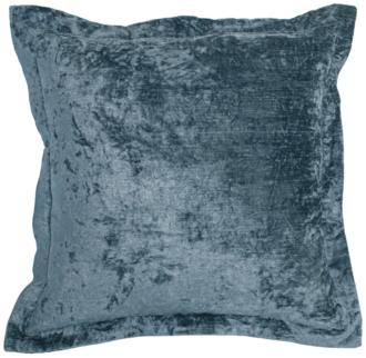 "Lapis Harbour Velvet 22"" Square Decorative Pillow (21R73) 21R73"