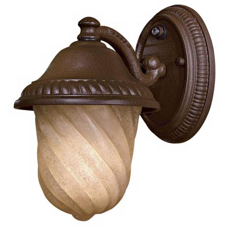 "Grafton Road 9 1/4"" High Bronze Outdoor Wall Light"