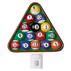 Rack of Billiard Balls Night Light