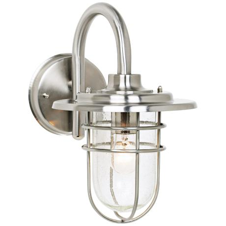 "Stratus Collection 12 3/4"" High Indoor - Outdoor Wall Sconce"